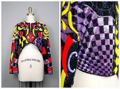 Avant Garde Sequin Embellished Beaded Trophy Jacket / by braxae