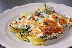 Kartoffel - Mangold - Gratin, ein tolles Rezept mit Bild aus der Kategorie Gemüse. 9 Bewertungen: Ø 4,0. Tags: Auflauf, einfach, Gemüse, Hauptspeise, Herbst, Kartoffeln, raffiniert oder preiswert, Schnell, Sommer, Vegetarisch