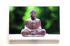 Macroaufnahmen - Buddhafigur von StenorKunst auf DaWanda.com