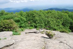 Blood Mountain, GA views from the top of 4,000 foot plus on the Appalachian Trail. Awesome!!
