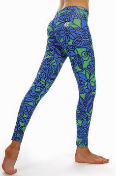 Margarita Florida Leggings | Daisy Fitness Wear