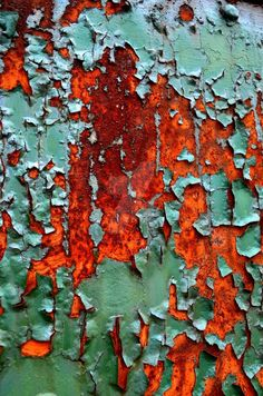 Nature texture art peeling paint 23 ideas for 2019 Texture Metal, Texture Art, Rusted Metal, Peeling Paint, Foto Art, Abstract Photography, Texture Photography, Wabi Sabi, Oeuvre D'art