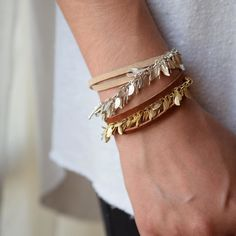 Wrapped stacked layered whatever you call it we've got it! Create your Boho arm party #thetwohandexchange