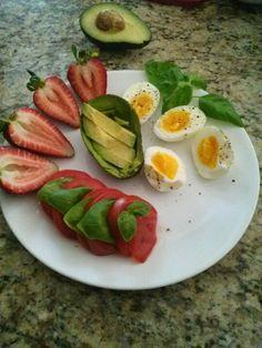 Heart healthy breakfast...