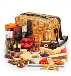 Luxury Gift Baskets: Select Charcuterie & Gourmet Cheese Hamper