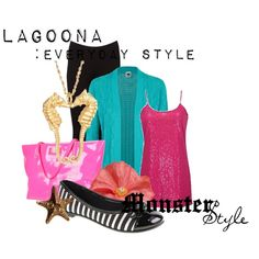 """""""Monster Style : Lagoona"""" by missm26 on Polyvore"""