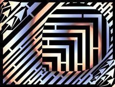 Trippy TEARDROP maze