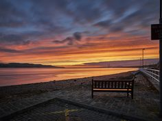 Seat with a View. Broughty Ferry, Dundee, Scotland by Shahbaz Majeed Amazing Places, Beautiful Places, Dundee, Photography Ideas, The Good Place, Scotland, Memories, Celestial, Travel