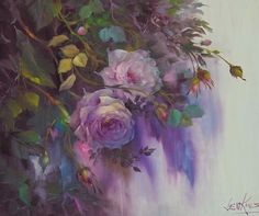 Another painting exploit by American artist painter Gary Jenkins from Reno, Nevada. Art Floral, Gary Jenkins, Beautiful Paintings, Artist Painting, Love Art, Art Projects, Art Gallery, Illustration, Artwork