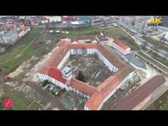 Oradea seen from above - 4K - YouTube