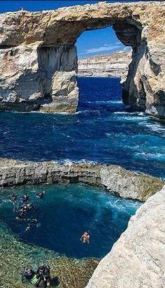 The Azure Window, Gozo, Malta - Europe   by Tareq Al Failakwy on Flickr