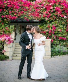 Incredibly stunning wedding: http://www.stylemepretty.com/2015/03/27/whimsical-pink-wedding-at-san-ysidro-ranch/ | Photography: Samuel Lippke - http://www.samuellippke.com/
