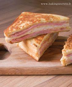 Baking Secrets: Monte Kristo sumuštinis / Monte Cristo Sandwich                                                                                                                                                                                 More
