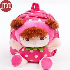 Find More Plush Backpacks Information about New 1 PCS Cute Baby Girl Backpack Pink Doll Student Bags Plush Bonecas Peluche Detachable Kindergarten Infantil Mochila Tracking,High Quality backpack diaper,China backpack sports bag Suppliers, Cheap backpack laptop from M&J Toys Global Trading Co.,Ltd on Aliexpress.com