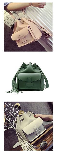 Spring is a perfect time for new accessories! Check out this charming stylish mini shoulder bag. Come in deep green, ivory and pearl pink colors at €18.61. Click on the picture to see the details.