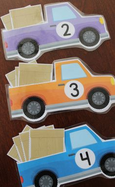 Transportation Counting and Number Activities