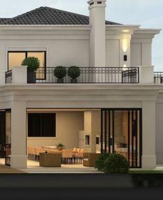 Home Ideas Exterior New 61 Ideas Bungalow House Design, House Front Design, Modern House Design, Future House, Design Exterior, Dream House Exterior, Dream Home Design, Modern House Plans, Facade House