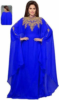 Modern Farasha Moroccan Abaya Khaleeji Kaftan For Wedding Gown Jalabiya Dress · $39.99 Plus Size Swimsuits, Women Swimsuits, Hijab Online Shopping, Khaleeji Abaya, Chiffon Cover Up, Women Sleeve, Crepe Dress, Elegant Woman, Evening Dresses
