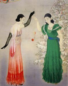 Enomoto Chikatoshi (1898–1973) Playing Yo-Yo - 1933