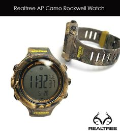 Realtree Rockwell Camo Watch. Available Now!!
