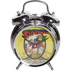 Relógio de Mesa DC Comics Superman Cover http://www.americanas.com.br/produto/119825069/relogio-de-mesa-dc-comics-superman-cover