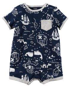 Baby Boy Snap-Up Cotton Romper | Carters.com