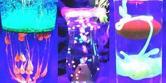 An Australian bar makes neon-layered cocktails using frozen nitrogen