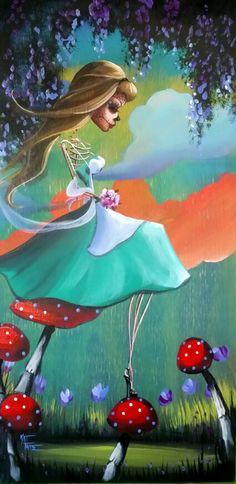 Alice in Wonderland Adventures In Wonderland, Alice In Wonderland, Lewis Carroll, Disney Drawings, Art Drawings, Day Of The Dead Artwork, Alice Liddell, Alice Madness, Twisted Disney