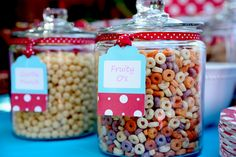 Cereal bar for the kiddos!
