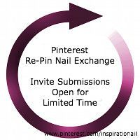 Pinterest Re-Pin Nail Exchange Submissions Are Once Again Open for a Limited Time via Inspirationail  http://www.inspirationail.com/repin-exchange-2015/