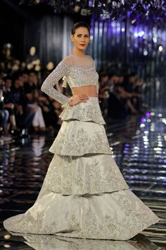 Manish Malhotra showcased his collection titled 'Sensual Affair' on the final day of the week-long gala, India Couture Week 2017 organised by Fashion Design Council of India.