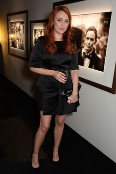 Keeley Hawes attends the BFI London Film Festival IWC Gala Dinner in. London Film Festival, Gala Dinner, Leather Skirt, Actresses, Skirts, Crushes, Black, Fashion, Female Actresses