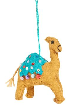 Creative Co-Op Felt Camel Ornament - Ornament Reviews