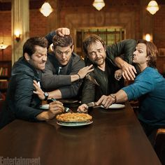 Anyone else notice that they all have forks... except Dean.