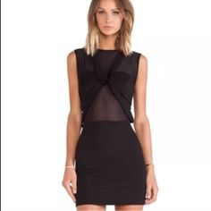 "Maurie & Eve """"Any Minute Dress"""" Mini Nwt $220"