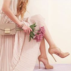 Sweet romance in 🌷 Viva Glam, Sad Girl, Casual Chic, Christian Louboutin, Photo And Video, Sandals, Heels, Stuff To Buy, Outfits