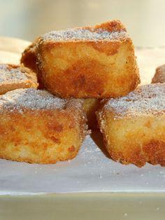 "LECHE FRITA ""SMAŻONE MLEKO"" - Limonkowy - blog kulinarny French Toast, Breakfast, Blog, Blogging, Morning Breakfast"