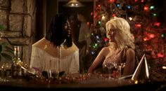 Boogie Nights_Don Cheadle, Melora Walters_New Year party