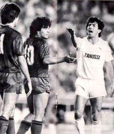 Maradona vs Juanito