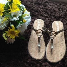 "Spotted while shopping on Poshmark: ""NWOT Bronze MICHAEL Michael Kohrs Sandals""! #poshmark #fashion #shopping #style #MICHAEL Michael Kors #Shoes"