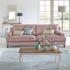 Canapé 2 ou 3 places, fixe coton, Rina. Style, élégance et confort au rendez-vous. Son revêtement coton 100% coton. Fabrication Européenne