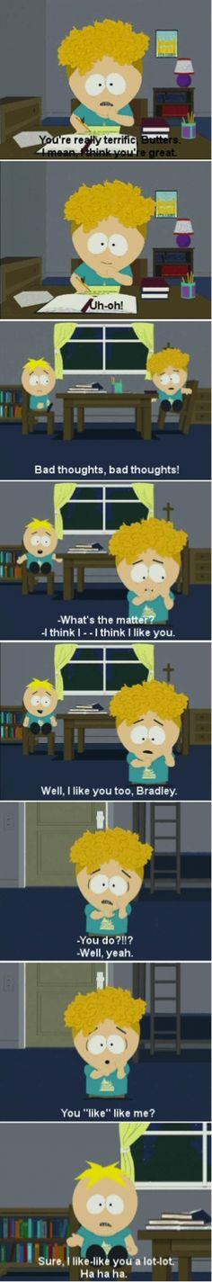 South Park Butters Bradley