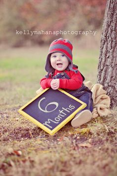 Kelly Mahana Photography 6 month portrait Boy