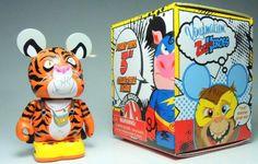 Disney Vinylmation Zooper Heroes 3 inch Figure Tiger