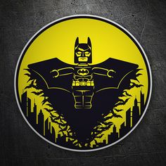 Pegatinas: Batman Lego sobre Gotham Joker, Chucky, 90s Kids, Porsche Logo, Gotham, Legos, New Tattoos, Birthday Wishes, Marvel