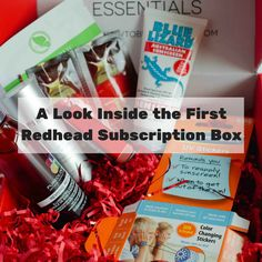 A Look Inside the Redhead Subscription Box | How to be a Redhead