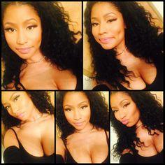 Nicki minaj selfie queen beautiful too