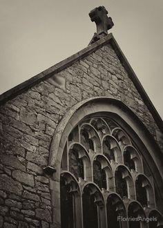 St Michael's Church, Caerwys ~ A Monotone Image
