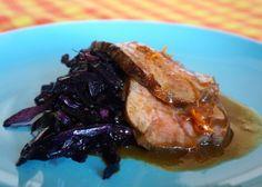 Costillas de cerdo marinadas con manzana y menta | Recetas El Comidista EL PAÍS