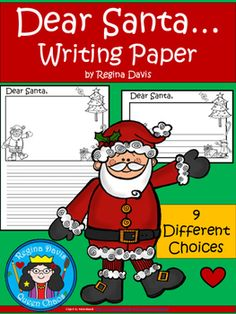 Dear Santa ... Write A Letter To Santa Claus: Differentiated Writing ...
